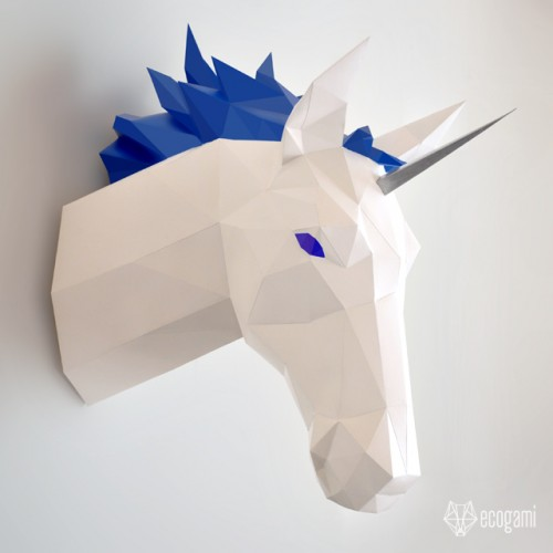 Unicorn / horse trophy