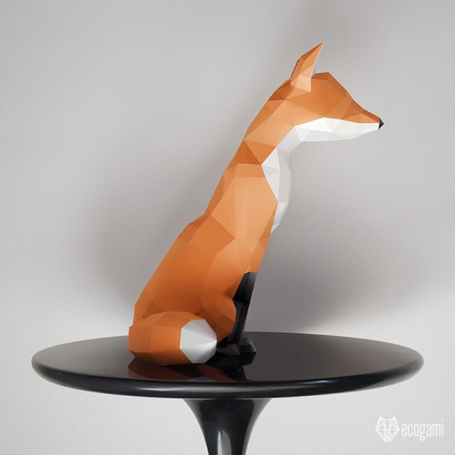 Fox sculpture II