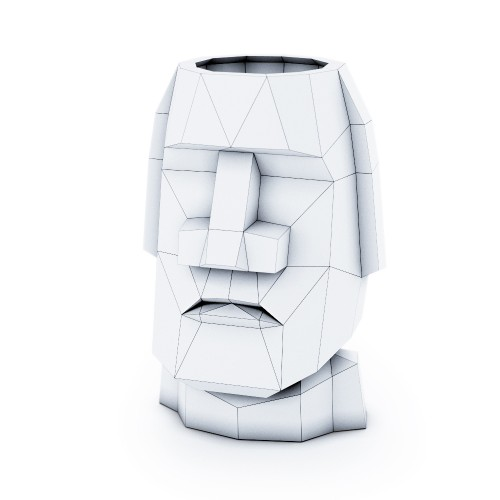 Head Moai (2 in 1)