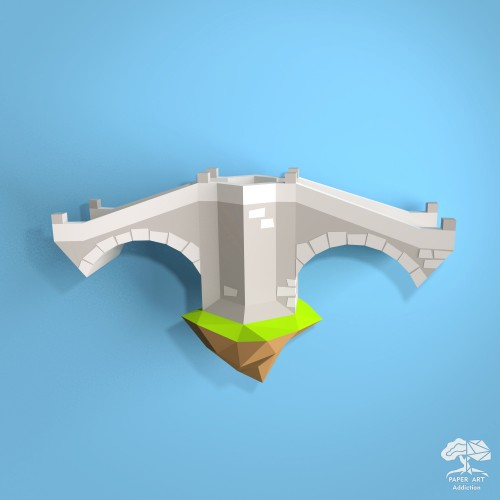 Stone Double Arch Bridge